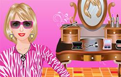 truccare e vestire Barbie