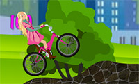 Barbie in bicicletta