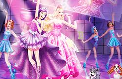 Gioco di abilità con Barbie